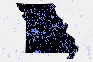 Overview Of State Senate District Missouri State Senate - Map of us senate districts in kansas