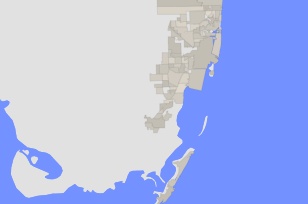 Map Miami Florida.The Demographic Statistical Atlas Of The United States Statistical